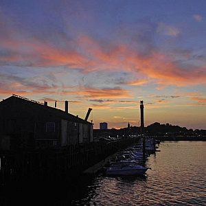 Provincetown Harbor Sunset